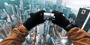 Some Dudes Broke Into The Roof Of A Hong Kong Skyscraper And Filmed It Using Quad-Copter Drones