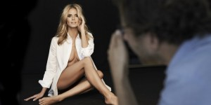 Heidi Klum Got Real Close To Naked For A SUPER HOT New Ad Campaign (26 Pics + Video)