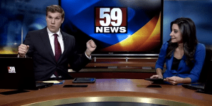 This TV Anchor From West Virginia CANNOT Dance—But That Didn't Stop Him When 'Where They At Doe?' Came On
