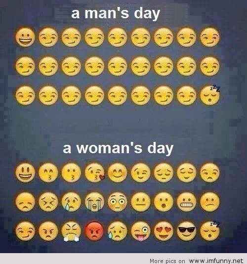 The Picture Jokes thread - Page 2 Mans-day-vs-womans-day