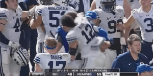 Miami Beach Bowl Game Between Memphis And BYU Ends In All-Out Brawl