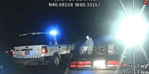 WATCH: Handcuffed Woman Steals Police Cruiser And Takes Cops On Insane 100 MPH Car Chase