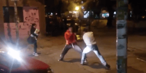 Street Fight In Argentina Ends In Quick KO With Monstrous Kick To The Head