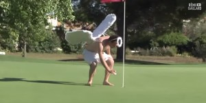 Bros Hijack Golf Balls Of Unsuspecting Golfers And Get Chased Around Course