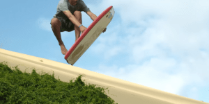 Is Boogie Boarding Gigantic Sand Dunes In New Zealand The Next Extreme Sport? If So, Count Me In!
