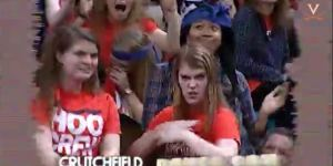 Virginia Basketball Game Features Epic Dance-Off, Terrifying Visuals