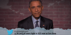 Watch President Obama Read Mean Tweets On 'Jimmy Kimmel Live!'