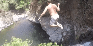 Watch Tom Brady Be Superman And Go Cliff Diving In Costa Rica
