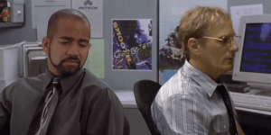 Replacing 'Michael Bolton' With The Real Michael Bolton In 'Office Space' Makes The Movie Even Funnier