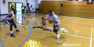 And1 Mixtape Legend Hot Sauce Forever Destroys Defender's Groin With Nasty Crossover