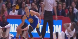Steph Curry Embarrassed Chris Paul With A Nasty Behind-The-Back Crossover Move