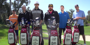 Dude Perfect And Two-Time Long Drive Champ Jamie Sadlowski Teamed Up For A Golf Trick Shot Video