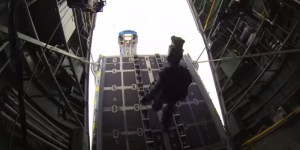 Behind-The-Scenes Look At Filming The Parachuting Cars Scene In 'Furious 7′ Is As Balls Insane As You'd Expect