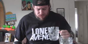 Guy Tries To Eat 26 Ghost Peppers At Once, Doesn't Die But It Sure Looks Like He Wants To