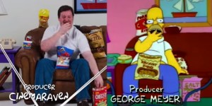 Man Perfectly Recreates One Of Homer Simpson's Most Epic Eating Scenes