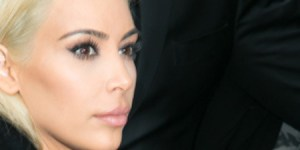 Holy Hell! Kim Kardashian Has Bright Shiny PLATINUM BLONDE Hair Now