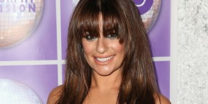Lea Michele Brought Out Some Sexy Cleavage To Help Promote Family Equality