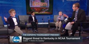 ESPN Had Toddlers Give NCAA Tournament Bracket Picks, Cuteness Ensued
