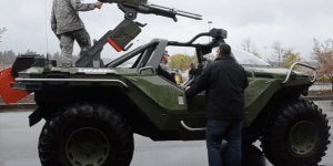 U.S. Military Base Adds Real-Life Halo Warthog To Their Arsenal (VIDEO)