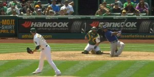 Adrian Beltre Hit A Ridiculous Home Run From One Knee, JUST DON'T TOUCH HIS HEAD!