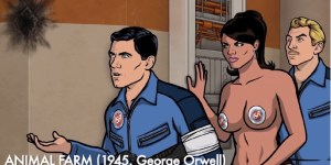 Who Knew Sterling Archer Was A Literary Genius? Video Complies All His Allusions To Famous Novels