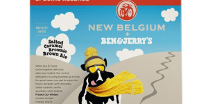 Ben & Jerry's Is Making BEER! It's Salted Caramel Brownie Brown Ale And I Crave It More Than Life Itself