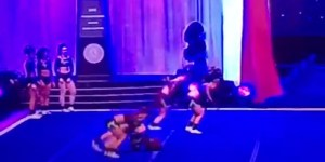 See A Cheerleader's Splintered Leg Dangle From Her Knee After She Snaps It In Half Landing A Flip