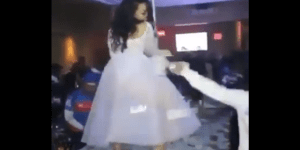 This Video Of A Bride Twerking On Stage At Her Wedding Makes Me Want To Put My Eyeballs Through A Paper Shredder