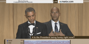 Watch Key from 'Key and Peele' Absolutely Crush It As President Obama's Anger Translator At The WHCA Dinner