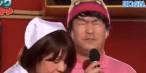 Japanese Game Show Where Contestants Get HJ's While Trying To Sing Karaoke Is Something You Need To See To Believe