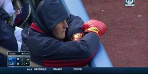 Trevor Bauer Wore Boxing Gloves In The Dugout Just In Case The Royals Wanted To Fight