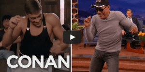 Jean-Claude Van Damme Shows He's Still Got It By Recreating 'Kickboxer' Dance Scene