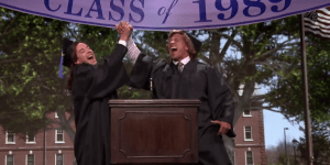 Dwayne Johnson And Jimmy Fallon Go Back To 1989 And Share Wisdom At Commencement Speech