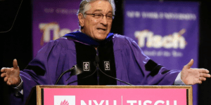 Robert De Niro Gives Brutally Honest And Amazing Commencement Speech At NYU: 'You're F*cked'