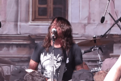 Foo Fighters go incognito as Chevy Metal at the county fair...