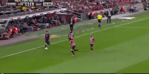 Lionel Messi Straight Up Clowns Multiple Defenders To Score Amazing Goal In Copa Del Rey Final