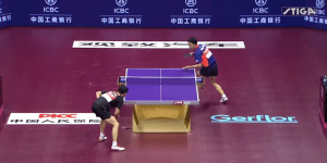 This Insane Ping Pong Rally Is Being Called The Table Tennis 'Point Of The Century'