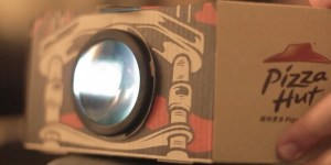 Pizza Hut's New Pizza Box Turns Into A Movie Projector, But It's Not Available In America…Yet