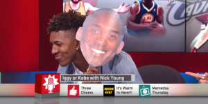 Watch Nick Young Try And Fail Oh, So So SO Bad At Identifying Iggy Azalea's Lyrics Vs. Kobe Bryant's
