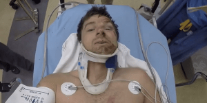 Have You Ever GoPro'd Yourself Suffering A Traumatic Brain Injury And Being Airlifted To The Hospital? This Guy Did.