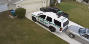 Florida Man High On God Knows What Caught On Camera Twerking On Top Of A Cop Car To Hall & Oates, Is Promptly Arrested