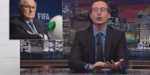 John Oliver Is So Sick Of FIFA And That 'Asshole' Sepp Blatter