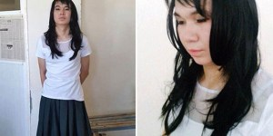 20-Year-Old Bro's So Whipped He Put On A Skirt And Wig, Got Caught Taking An Exam For His GF