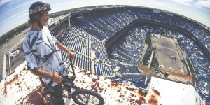 Bro Goes For EPIC BMX Ride Through Detroit's Abandoned Pontiac Silverdome