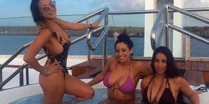 'Hugh Hefner Of The Hamptons' Chartered 290-Foot Yacht And Packed It Full Of Hotties, Is Partying In The Galapagos