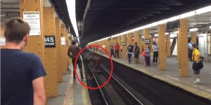Dude Trying To Jump Across Subway Tracks Falls A Bit Short, Gets Face Full Of Concrete For His Efforts
