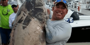Potential World Record Black Grouper Just Caught Off Florida Weighs More Than I Did In High School
