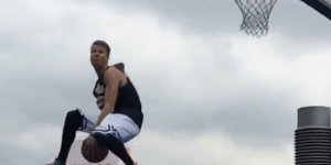 Get Ready To Be Amazed By This Insane 360 Through-The-Legs Dunk OVER 4 People