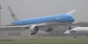 Try Not To Barf Watching This Giant Boeing 777 Bob, Weave And Land In 75 MPH Winds