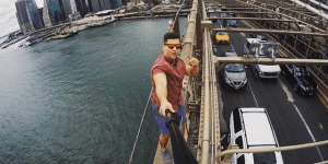 UT Student Snaps Insane Selfie On Top Of Bridge Proving Cops Are Powerless To Stopping People From Doing It